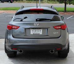 New 2015 Infiniti Sport, featuring new for this year black-out wheels from previous other dark/black-out trim elements, and paddle shifters. 2015 Infiniti, Nissan Infiniti, Nice Cars, Paddle, Dream Cars, Infinity, Wheels, Garage, Sport