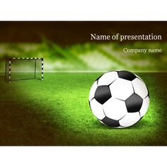 Soccer ball powerpoint great for any sports presentations has an free soccer powerpoint template free soccer powerpoint templates powerpoint football template free download toneelgroepblik Image collections