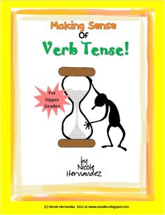 A Teacher's Idea: READING Resources:This fantastic Verb Tense sorting game includes 3 sorting mats and 110 cards. There are actually 110 words that are expressed in 11 different verb tenses for students to sort. These verb tenses and word cards are color coded to facilitate readability. The verb tenses included here are:Present Tense  •Past Tense  •Future Tense  •Present Perfect Tense  •Past Perfect Tense  •Future Perfect Tense  •Present Continuous Tense  •Past Continuous Tense  •Future...