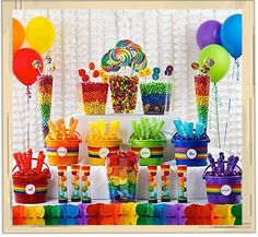 I saw this and thought its really cute. I love the bright colors. I was just planning on doing it for the kids that are there and adults if they want some too.
