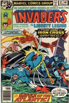 "Invaders #37 February, 1979  ""The Liberty Legion Busts Loose!"""