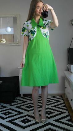 retro vintage kläder klänning 60 70 tal mad men studentklänning 51f5cf26b48e9