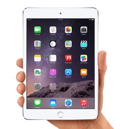 The iPad mini now with Touch ID