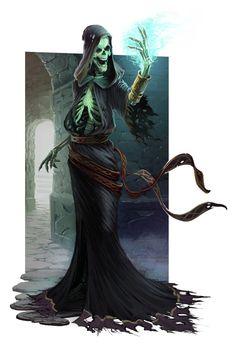 Skelethane Monster by https://dangercook.deviantart.com on @DeviantArt