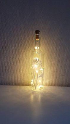 Zen, Relax, Meditation, Light Chain, Bottle Lights, Light Bulb, Hand Painted, Lighting, Etsy Shop