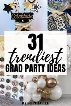 Wow! These are such good ideas. I really like the food ideas, I didn't know what to serve at my grad party. High School Graduation, Grad Parties, Party Ideas, Entertaining, Ideas Party, Graduation Parties, Senior Prom