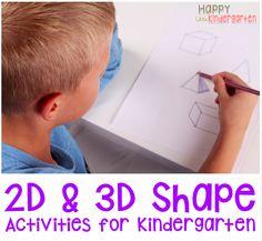 Happy Little Kindergarten: SHAPE It Off!