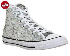 2c6a370988cf Converse Chucks 553440C CT AS Silver White Black Silber