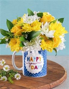 flowers: Happy You D
