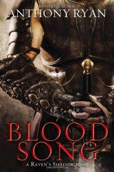 Anthony Ryan - Blood Song (Book 1 of the Raven's Shadow series). This came out of nowhere and completely floored me. Now I just need to wait for book 2 to come out. Fantasy Authors, Fantasy Books, Fantasy Series, Good Books, Books To Read, My Books, Love Book, Book 1, Fantasy Book Covers
