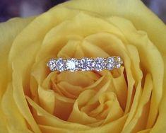Hearts on Fire 7 stone ring. Fire Heart, Bvlgari, Luxury Jewelry, Stone Rings, Luxury Branding, Diamond Jewelry, Jewelry Collection, Fine Jewelry, Hearts