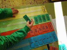 Hola a tod@s, ¡Ya estamos de vuelta con energías renovadas! Espero que la vuelta al cole no haya sido muy dura :) Hace tiempo que os quería... Math 2, 4th Grade Math, Kindergarten Math, Math Games, Numicon, Math Place Value, Montessori Math, Math Numbers, Reggio Emilia