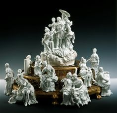Made for Friedrich August III. Dresden Acier, Michel Victor (1736-1799)|Modeler Neuber, Johann Christian (1735-1808)| Jeweler Meissen, 1775