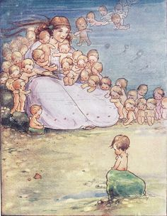 Water Babies :: Mabel Lucie Attwell -1920-