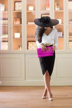 Look invitada boda: black & white Invitadas, Sin categoría - Confesiones de una Boda