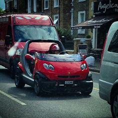 smart #crossblade in #London – Instagram picture by @luke_insta_gray