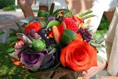 Dietitian Wedding Bouquet! - Only a RDN would think of this - BRAVO!!!