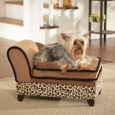 Ultra Plush Storage Dog Sofa