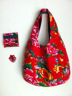 reversible bag de VPP + pochette du Sewer Cat - Photo de sacs et accessoires pour grandes - l'atelier clandestin