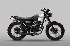 """<p>London-based industrial design brand Buster & Punch collaborated with Mutt Motorcycles to design this limited edition, perfect specimen of a bike called LDN Born Mutt. Designed for """"The E"""