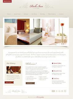 Check out this Hotels PSD Template ( - discover all the technical specifications and requirements prior to buying it. Hotel Website Design, Theme Hotel, Banquet Facilities, Web Design Software, Hotel Services, Photography Website, Psd Templates, Website Template, Wordpress Theme