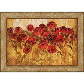 Found it at Wayfair - Sunshine Florals by Vassileva Framed Painting Print