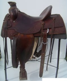 USED MCCALL GREAT BASIN 16″ RANCH SADDLE « High Plains Ranch Supply