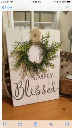 Home Decoration Rustic Farmhouse Style Simply Blessed Coastal Farmhouse Rustic Decoration Rustic Farmhouse Style Simply Blessed Coastal Farmhouse Rustic Diy Home Decor Rustic, Country Farmhouse Decor, Farmhouse Style Decorating, Handmade Home Decor, Coastal Farmhouse, Coastal Cottage, Cottage Farmhouse, Coastal Style, Target Farmhouse