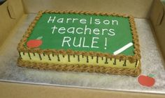 Another Teacher Appreciation Cake.  Which one should I do?
