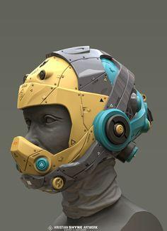 ArtStation is the leading showcase platform for games, film, media & entertainment artists. Futuristic Helmet, Futuristic Motorcycle, Futuristic Armour, Character Concept, Concept Art, Character Design, Eva Foam Armor, Personal Armor, Helmet Drawing