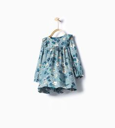 Printed frilly dress-Dresses and Jumpsuits-Baby girl (3 months - 3 years)-KIDS | ZARA United States