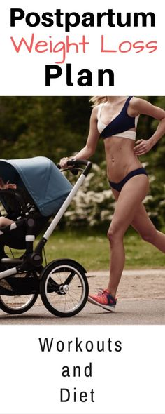 Postpartum Workout & Diet Plan for weight loss-12 week plan, no gym required.