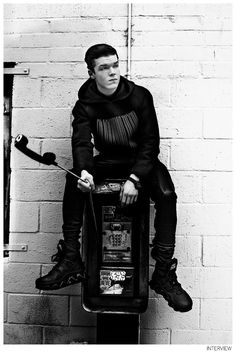 """Cameron Monaghan Gets Interviewed-Photographed by Brian Higbee for Interview magazine, 'Shameless' actor Cameron Monaghan talks about his new role alongside Jeff Bridges and Meryl Streep in 'The Giver'. Joking about his characters often being on the receiving end of a punch, both in 'Shameless' and 'The Giver', Monaghan shares, """"Yeah it seems like the requirements...[ReadMore]"""