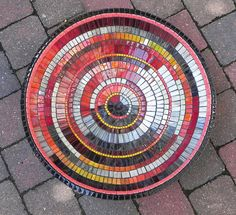 Mosaic Art Mosaic Bowl Table Decoration in Black by NewArtsonline