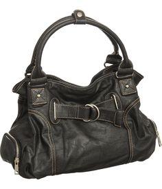 Purse Boutique: Black ''Bonnie'' Hobo Purses