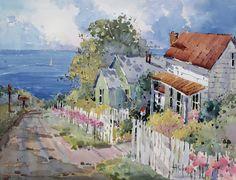 Westport By the Sea, Joyce Hicks artist.