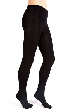 39141f7a7e7 ... warm all winter long. Fleece-Lined Full-Foot Tights Wool Tights