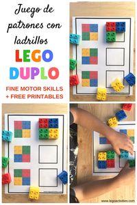 Juego de patrones con ladrillos LEGO DUPLO