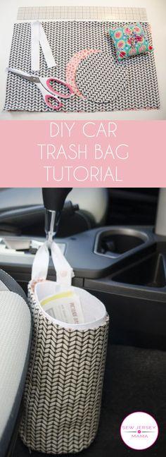 DIY Car Trash Bag Tutorial | Sewing Tutorial | DIY Project | Car Trash Bag | Easy Sewing Project