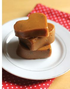 Salted Maple syrup fudge