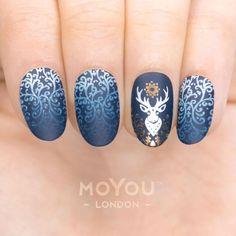 Nice 38 Trendy Winter Nail Art Designs 2017. More at http://trendwear4you.com/2017/12/15/38-trendy-winter-nail-art-designs-2017/