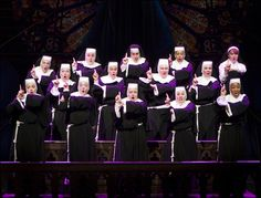 The cast of Broadway's Sister Act