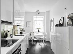 ¿Por qué apostar por una cocina con office? #hogarhabitissimo #office #nórdico