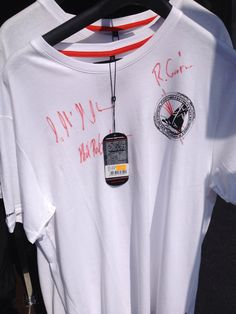 Extreme Sailing Series T-Shirt Signed by the Skippers