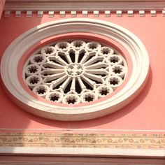 Nice molding looks like a dorje in the center! Church nha tho tan dinh Vietnam