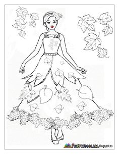 Planse cu ZANA TOAMNA - Imagini de colorat | Fise de lucru - gradinita Fall Coloring Pages, Coloring For Kids, Coloring Books, Autumn Leaves Craft, Autumn Art, Autumn Activities For Kids, Crafts For Kids, Fall Art Projects, Easy Fall Crafts