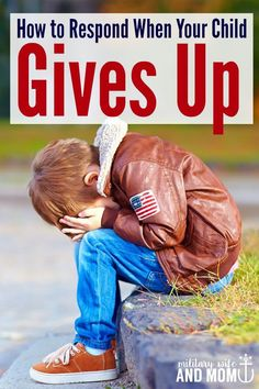 """Does your child say """"I can't do it"""" or give up or whine? These tips are perfect for how to stop a whining child and help your child problem solve through situations."""