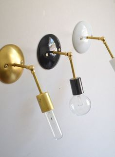 Affordable Brass Sconces