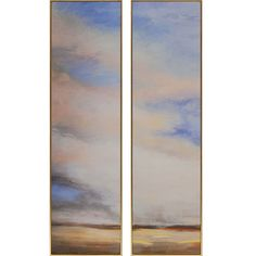 Far and Away Pk/2 - Exclusive Embellished Giclée on Canvas - Plaque.  Kinder-Harris Collection