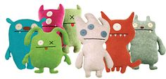 Scout & Grace's obsession:Ugly Dolls. I used to only be able to get them by mail order but last time I was in the Gaslight District in San Diego, I found them in Nordstrom. :)